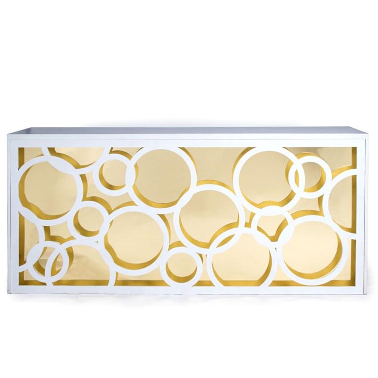 Circulos Bar Gold