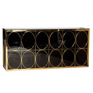 Lincoln Bar Gold Black