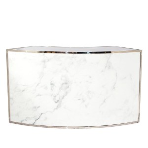 Form Curved Bar Marble