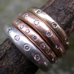 Handmade Rings Unusual Eternity Rings