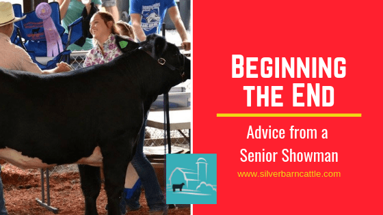 Beginning the End: Advice from a Senior Showman