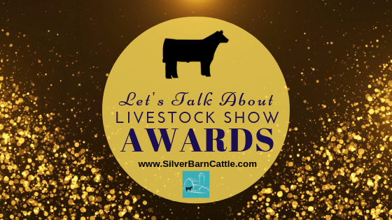 Livestock Show Awards and Buyers' Gifts