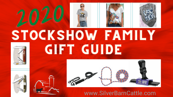 2020 Stock Show Family Gift Guide