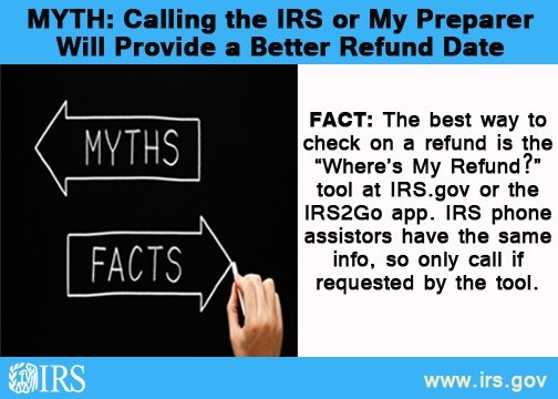 Tax Season Myths - Silver Creek Financial Services
