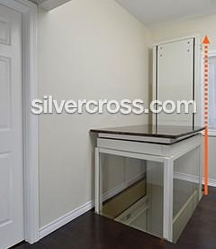 Through-the-floor Specialty Home Elevators | Silver Cross