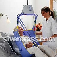 ArjoHuntleigh Patient Transfer Solutions | Ceiling Lifts | Silver Cross
