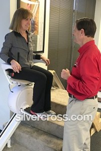 Silver Cross Charlotte | Stair lift