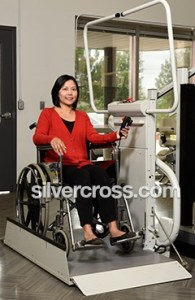 Omega Inclined Platform Wheelchair Lift Savaria | Silver Cross