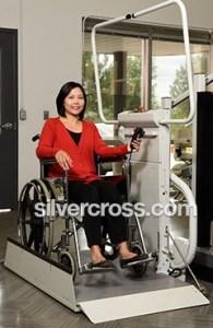Omega Inclined Platform Wheelchair Lift Savaria | Silver Cross