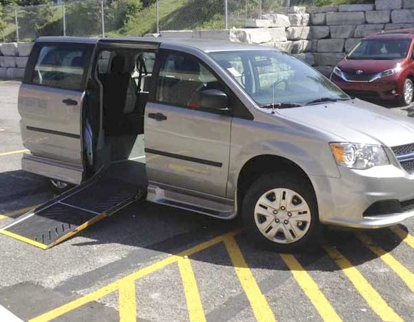 2016 Savaria Rear Entry for Dodge Grand Caravan CVP | Silver Cross Automotive