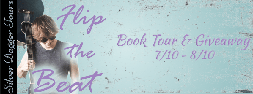 $25 Amazon Gift Card Giveaway & Flip the Beat Book Tour ends 8/10