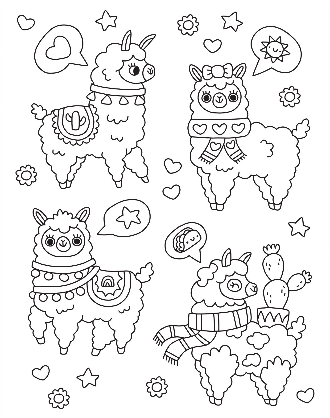 Kaleidoscope Too Cute Coloring Downloadable Silver Dolphin Books
