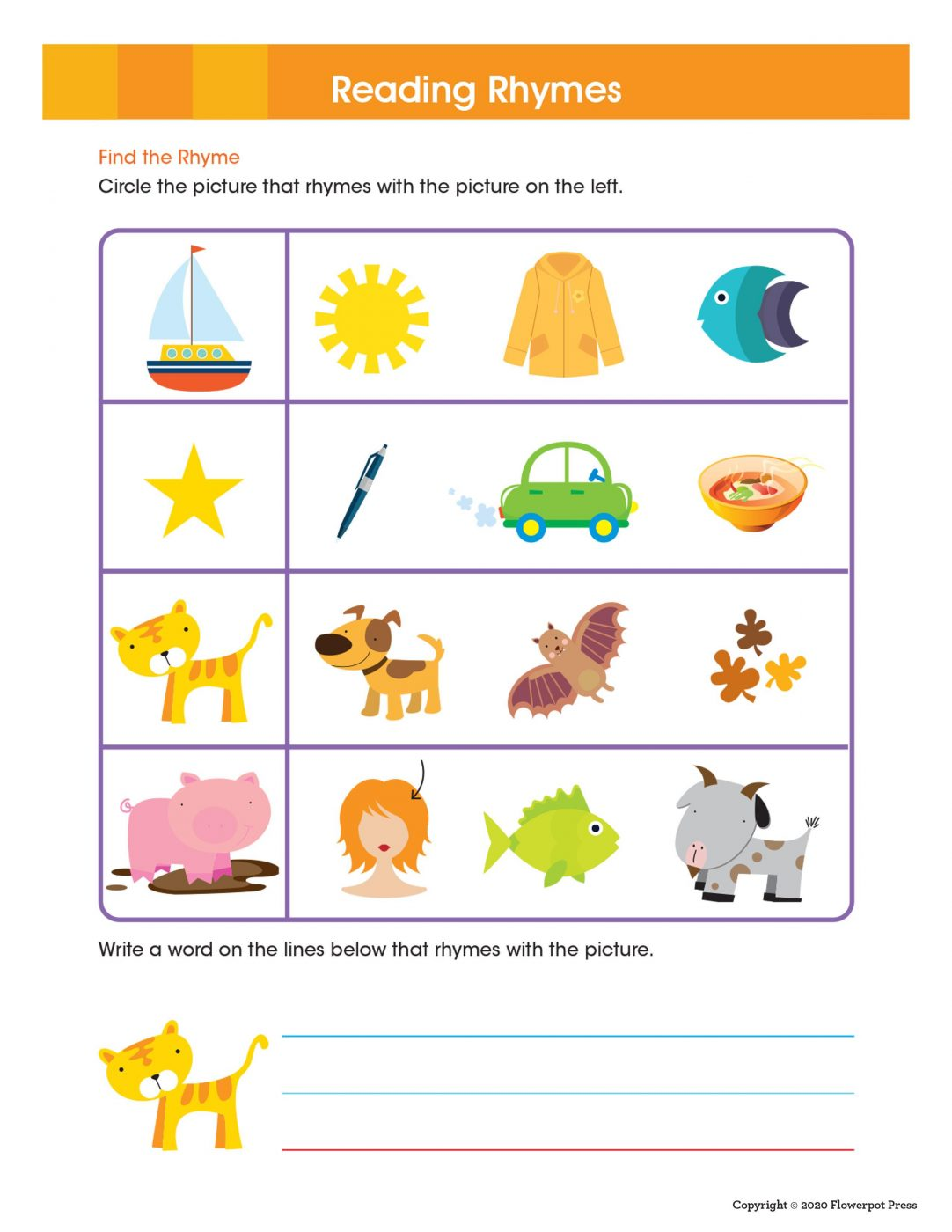 Ready To Learn Kindergarten Workbook Activity Pages