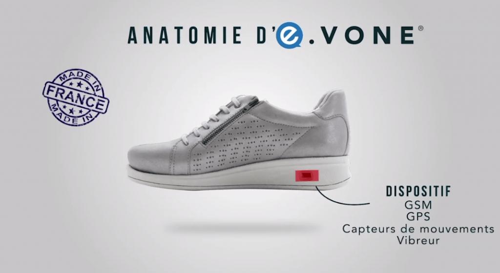 Risultati immagini per e-vone smart shoe