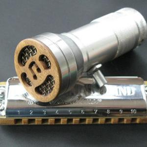 Custom Harmonica and Microphone