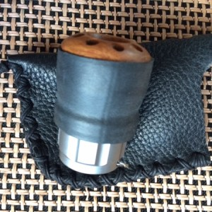 Leather Case - Silverfish Bullet Harp Mic