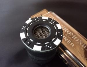 Mini Bullet (black poker/dice motif)