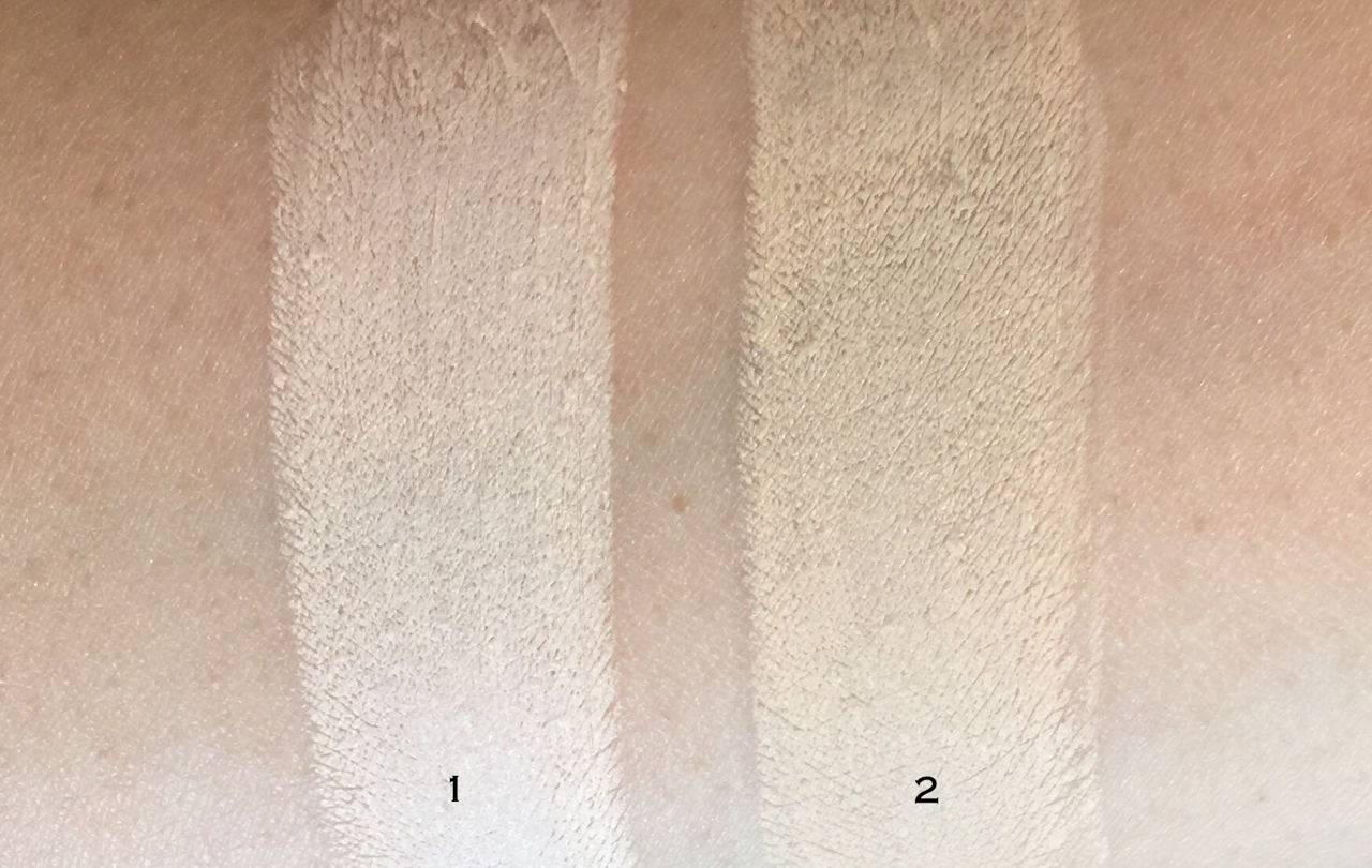 La Mer the Concealer swatches
