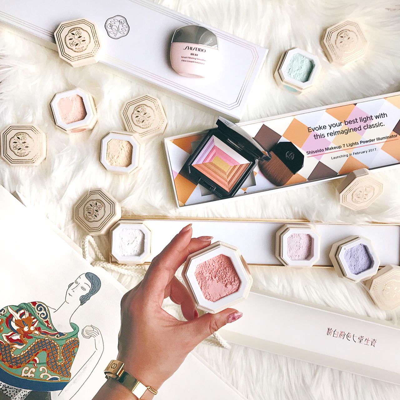 Shiseido 7 Colors Powder & 7 Lights Powder