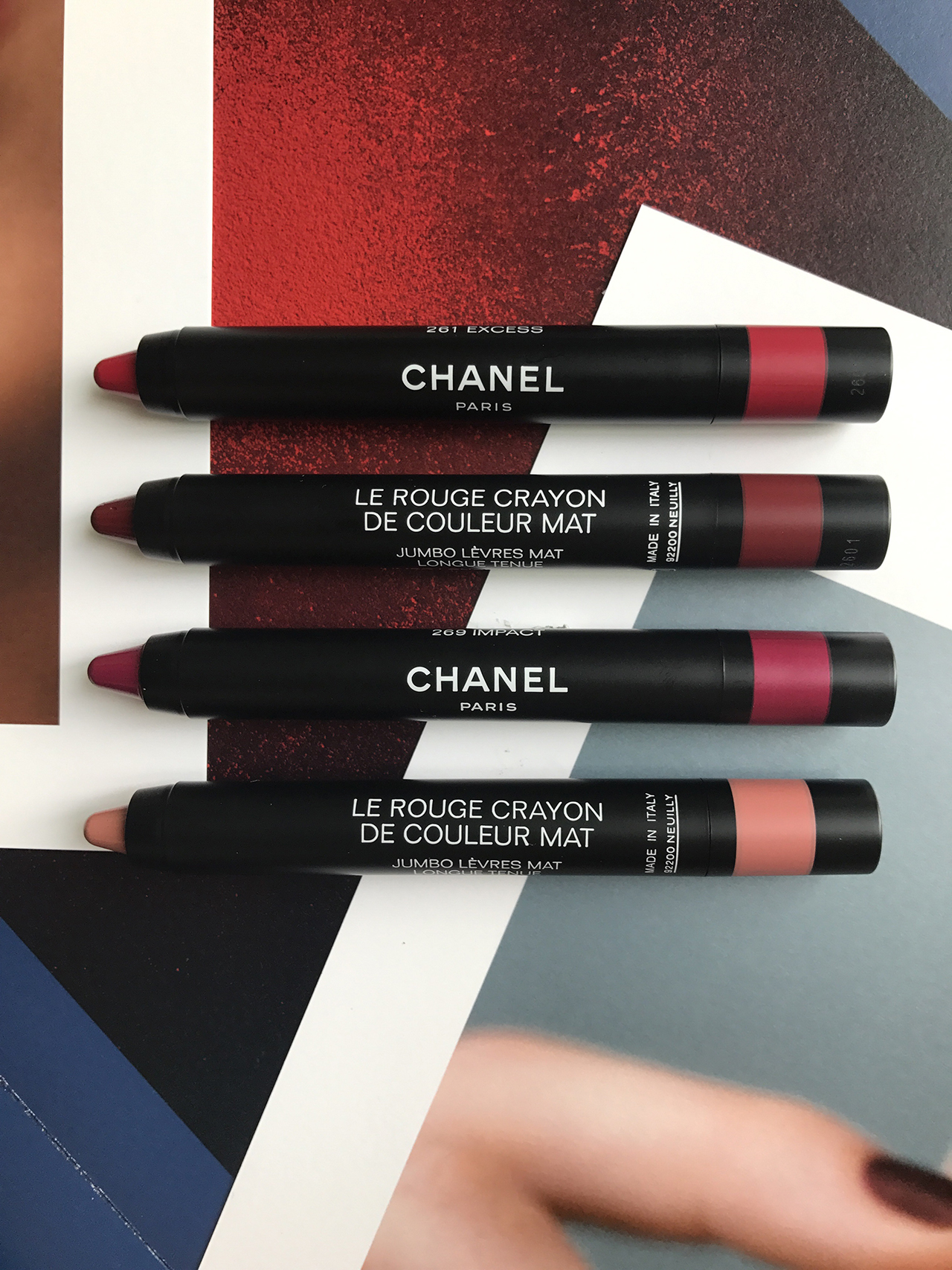 Chanel Le Rouge Crayon de Couleur Mat