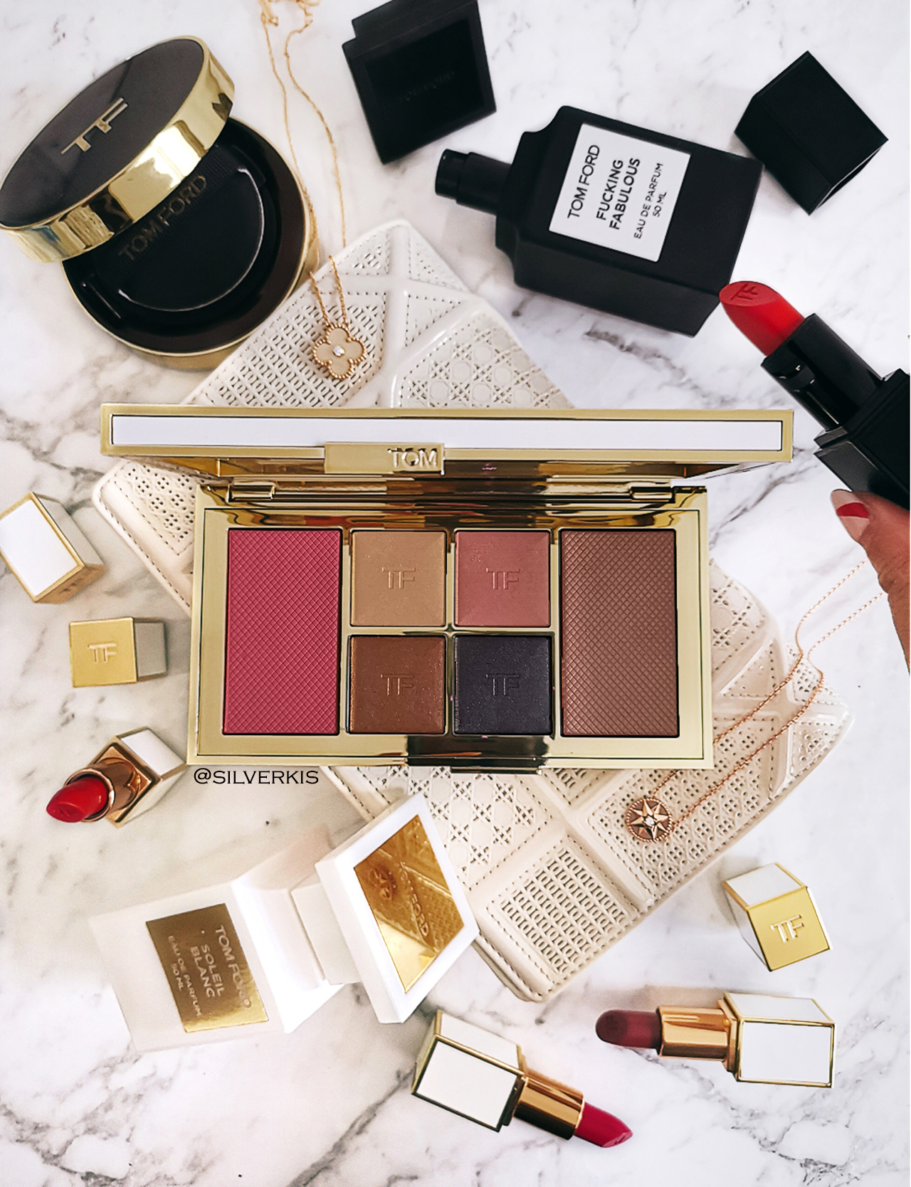Tom Ford Winter Soleil 2018 Eye & Cheek Palette