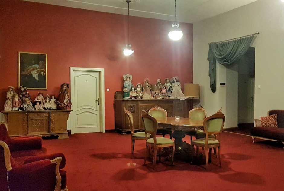 wnętrza hotelu Pałac Brunów