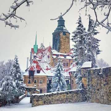 Zamek Czocha – dolnośląska perła w zimowej odsłonie
