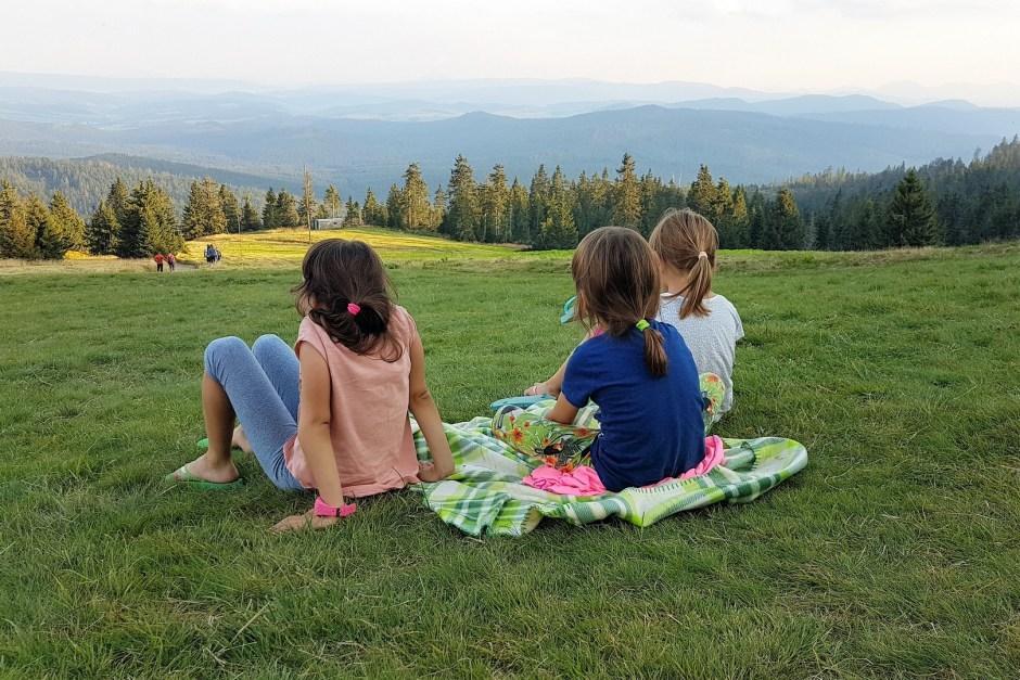 w góry z dziećmi - Hala Rysianka