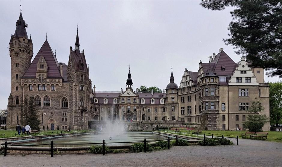 Zamek Moszna polski Hogwart