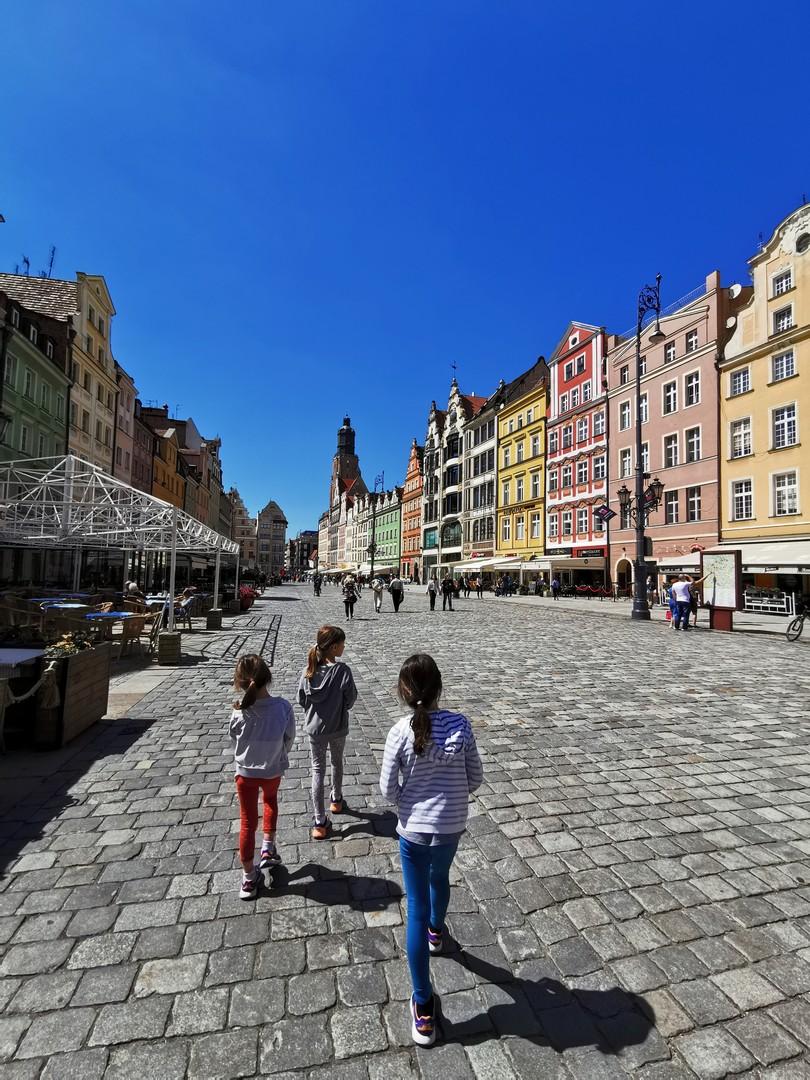 Północna pierzeja rynku, Wrocław