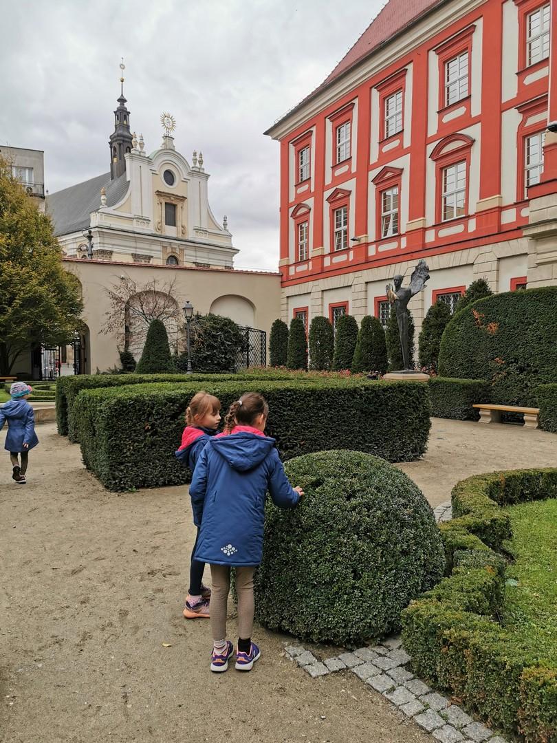 barokowy ogród Ossolineum