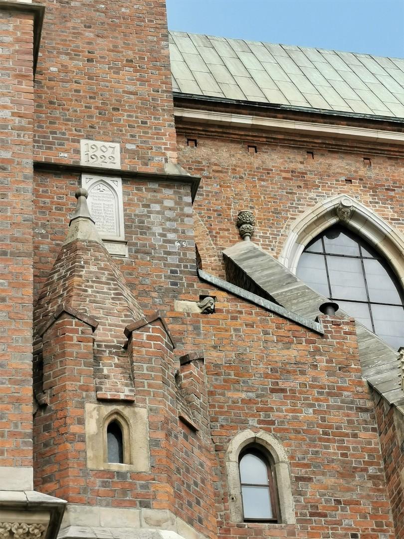 Katedra, legenda o podpalaczu, Wrocław