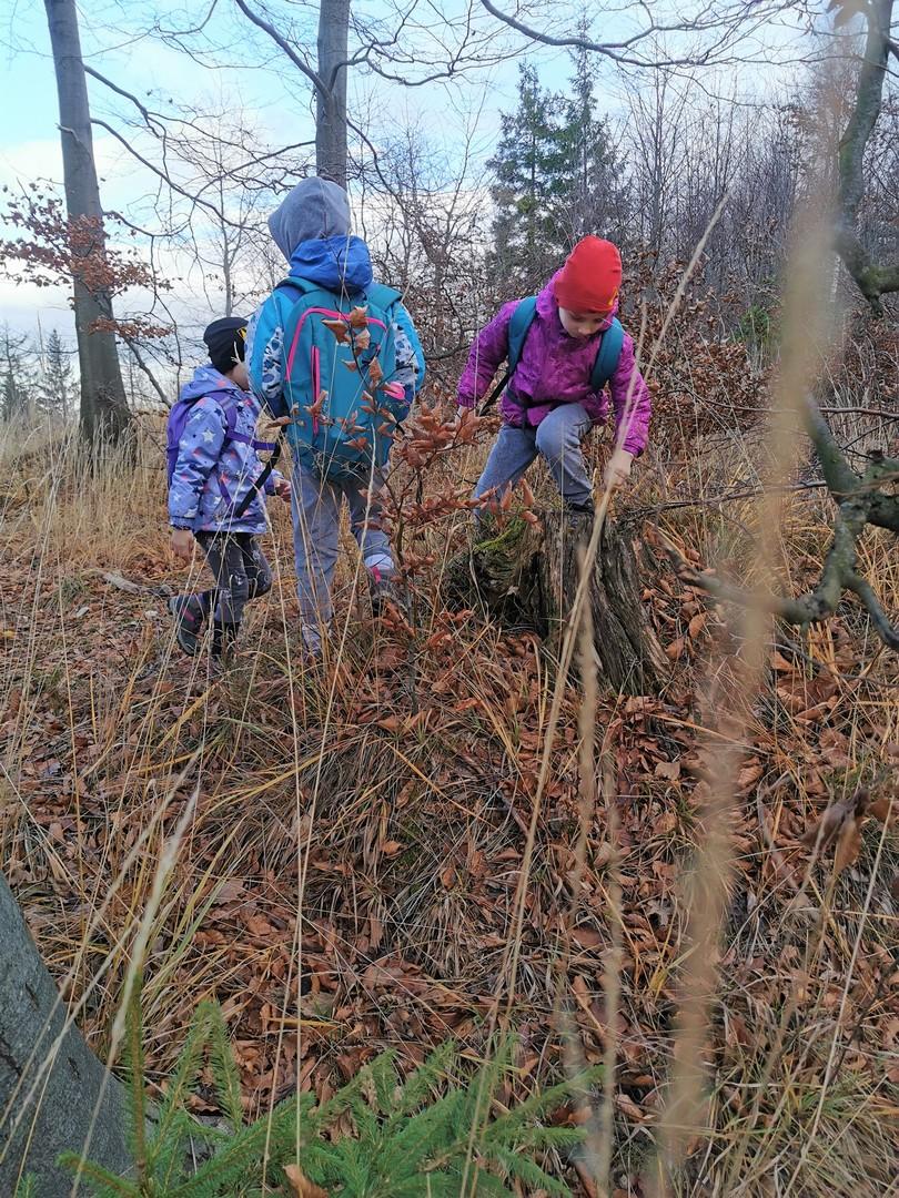 Geocaching Góry Sowie z dziećmi