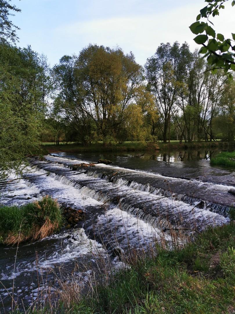 """Park Krajobrazowy Dolina Bystrzycy - szumiące """"wodospadziki"""""""
