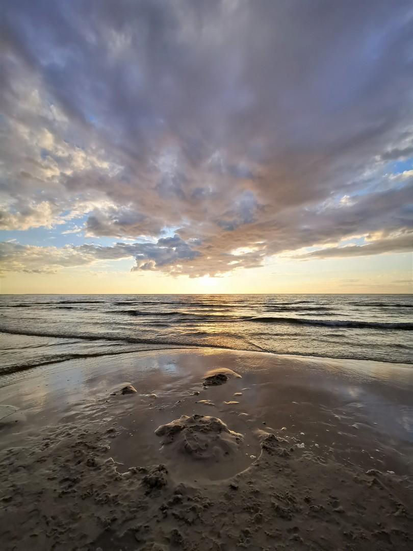 SilverMint blog Woliński Park Narodowy plaża w Wisełce