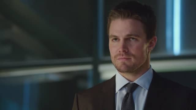 After Felicity starts to walk away. Photo: CW