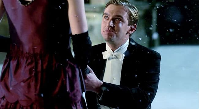 Image result for matthew crawley proposal