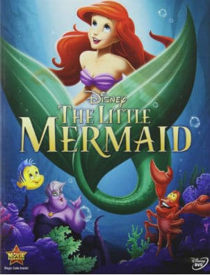 little mermaid dvd cover
