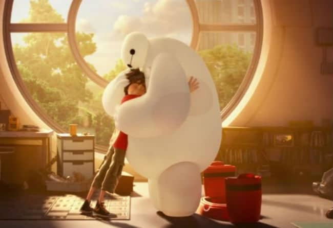 Hiro and Baymax Photo: Disney