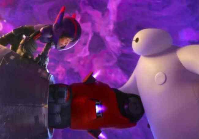 Hiro and Baymax in the Vortex Photo: Disney