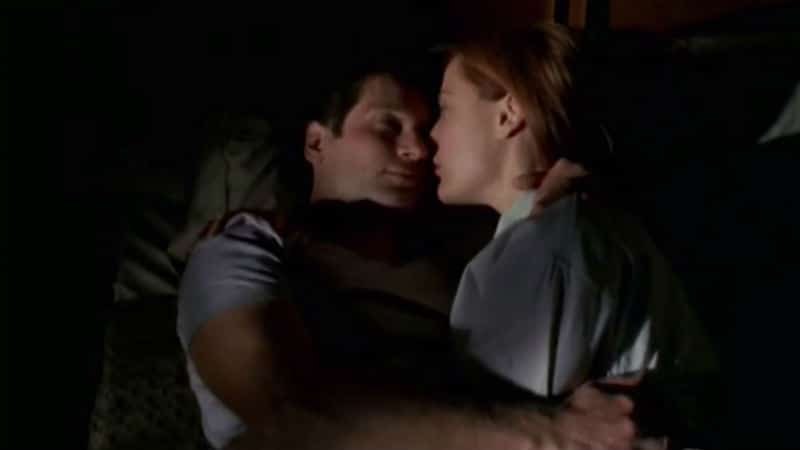 alien like you; scully and mulder