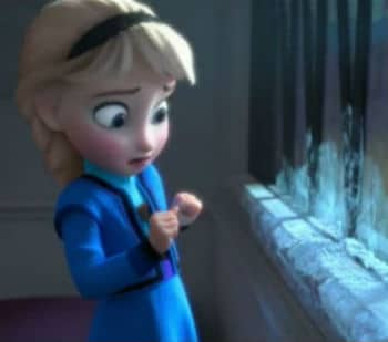 Young Elsa Panics Photo: Disney