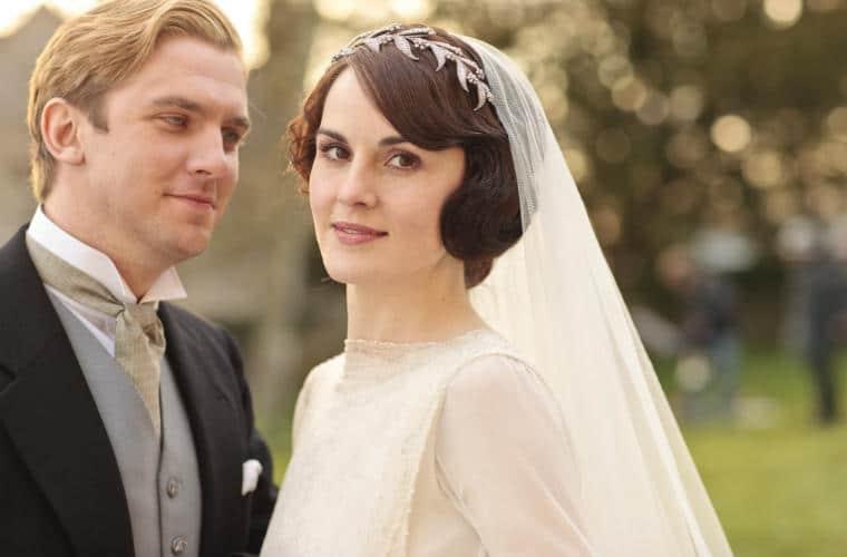 downton abbey; romantic tv shows