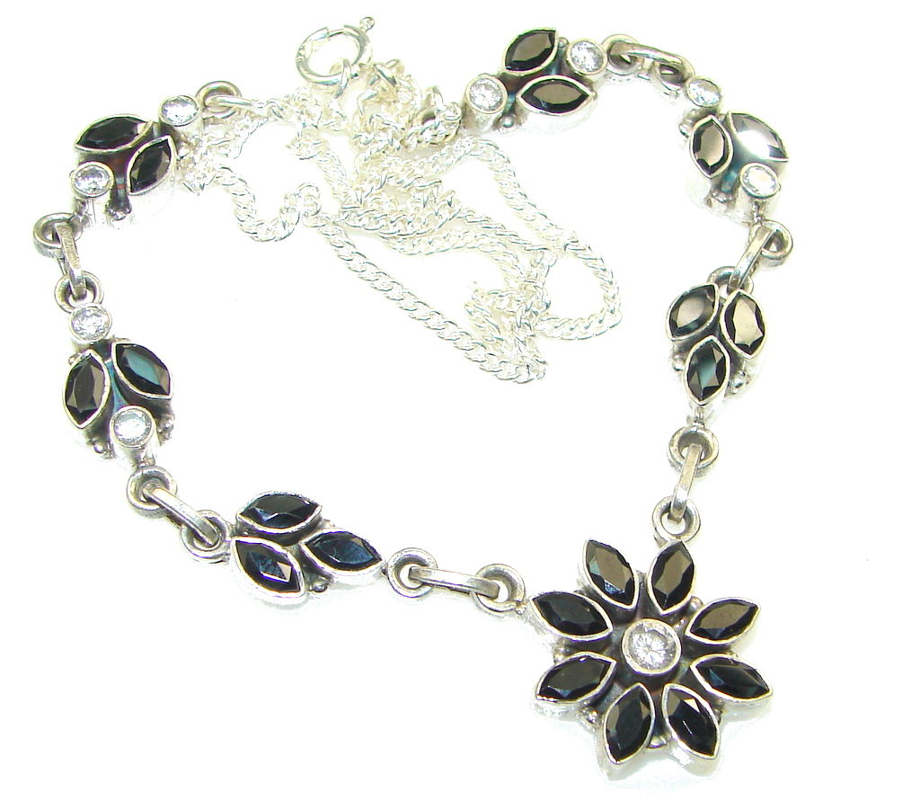 Secret Hematite Sterling Silver Necklace 2040g 93