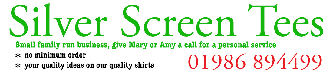 Silver Screen Tees, T shirt printers, embroidered clothing, Norfolk, Suffolk, sports, schools, work,