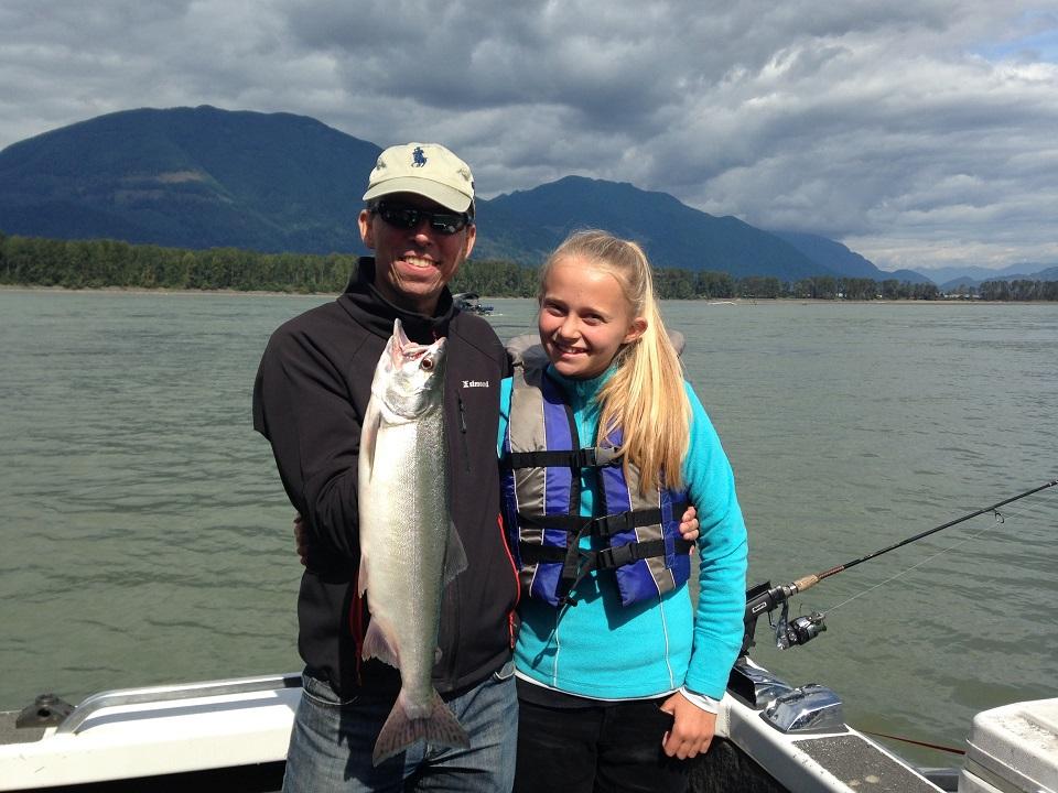 Pink Salmon Fishing Guides Fraser River Pink Salmon