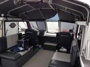 sturgeon charter boats