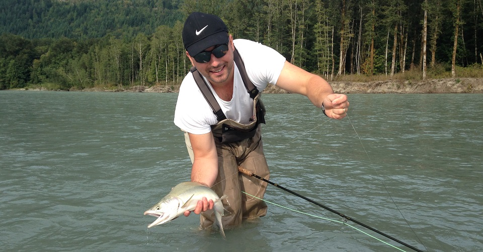 pink salmon, fly fishing, pink salmon fly fishing, pink salmon fly fishing squamish, pink salmon fly fishing guide, pink salmon fly fishing bc, pink salmon fly fishing canadavancouver