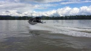 jet boat, fraser river, sturgeon fishing, sturgeon fishing fraser river