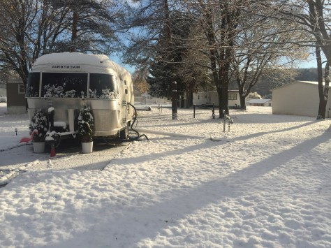 Airstream winter
